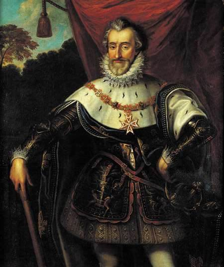 Henri the fourth, king of France