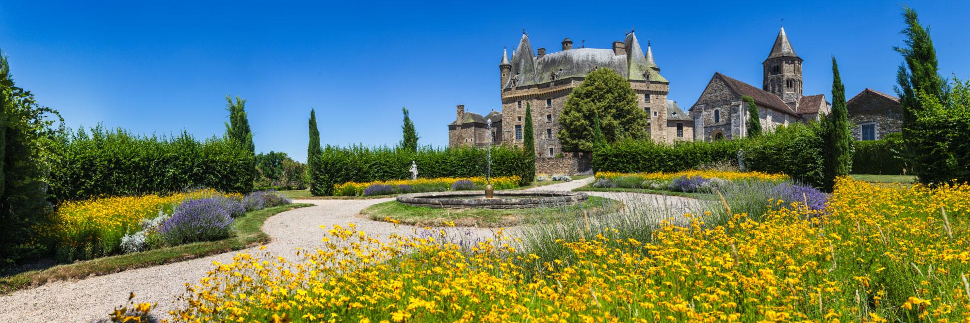 jardins du château de Jumilhac